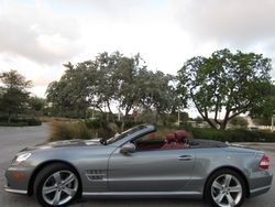 2009 Mercedes-Benz SL550R Convertible