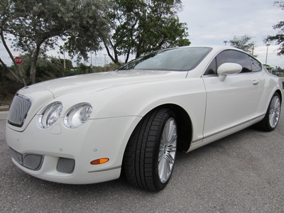 2008 Bentley Continental GT Speed Coupe