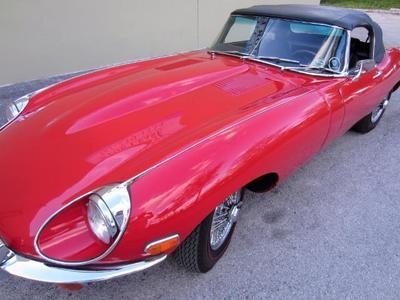 1969 Jaguar E-Type XKE Convertible