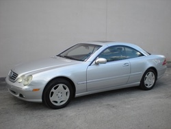 2001 Mercedes-Benz CL600 Coupe