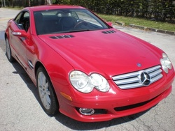 2007 Mercedes-Benz SL550R Convertible