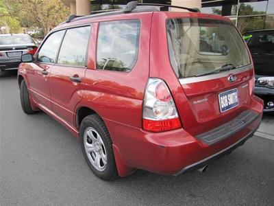 2007 Subaru Forester Forester