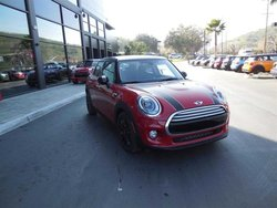 2015 MINI Cooper Hardtop 4 Door CLOTH/LEATHER BLACK PEARL