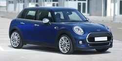 2015 MINI Cooper Hardtop 4 Door CLOTH/LTR DIMND CRB BLK